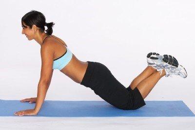 personal training push ups