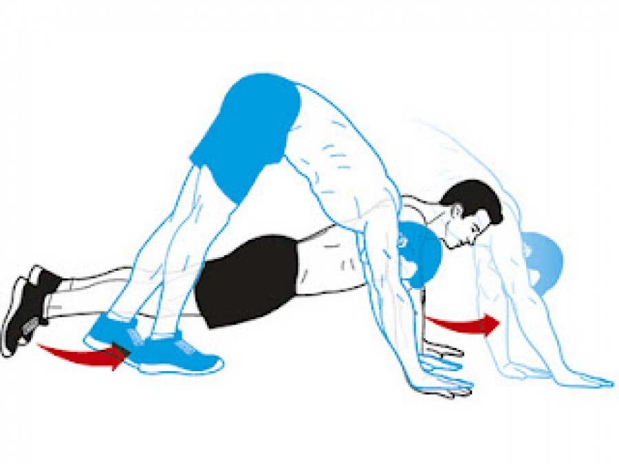 personal training push up